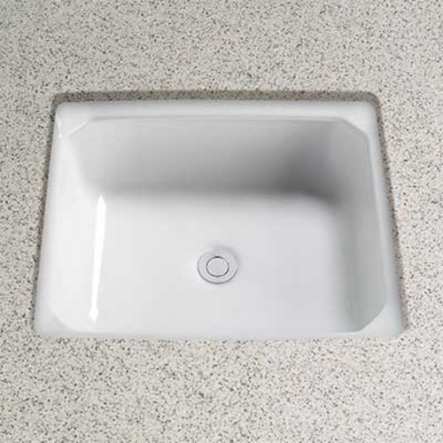 "20"" x 18"" Guinevere Undermount Bathroom Sink - Cotton White <small>(#LT973G#01)</small>"