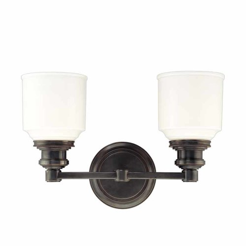 Hudson Valley Windham 2 Light Bathroom Vanity Light - Old Bronze 3402-OB