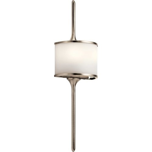 Kichler Mona 2 Light Wall Sconce 50W - Classic Pewter 43375CLP