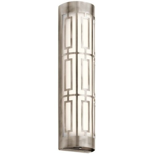 20 Inch Empire Linear 2 Light LED Bath Light - Classic Pewter <small>(#43879CLPLED)</small>