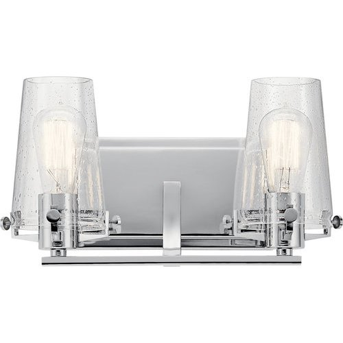 Alton 2 Light Wall Mount Bath Light - Chrome <small>(#45296CH)</small>