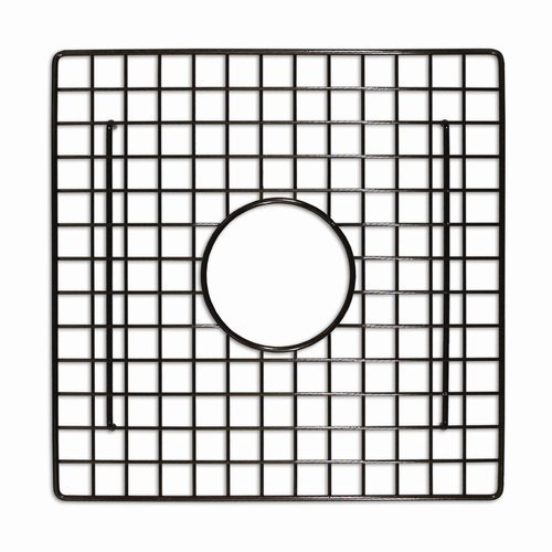 "12-1/2"" Square Kitchen Sink Grid - Mocha <small>(#GR934-M)</small>"