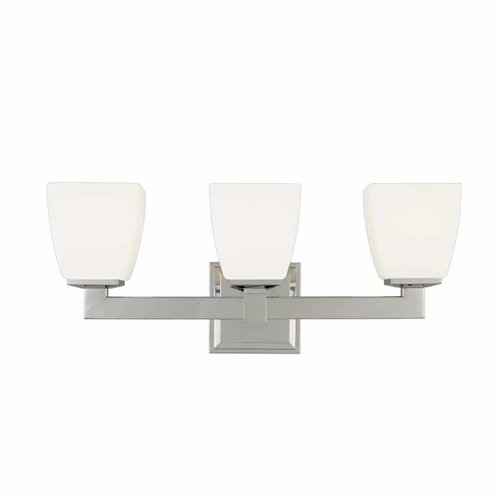 Soho 3 Light Bathroom Vanity Light - Polished Chrome <small>(#6203-PC)</small>