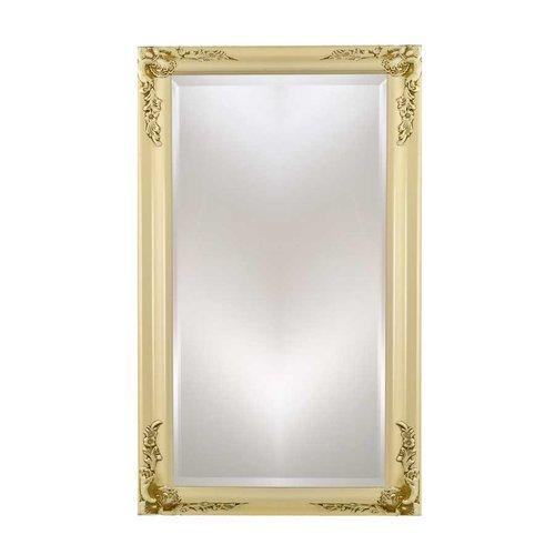 "Estate 20"" Mirror - Antique Biscuit <small>(#EC13-2026-BI)</small>"