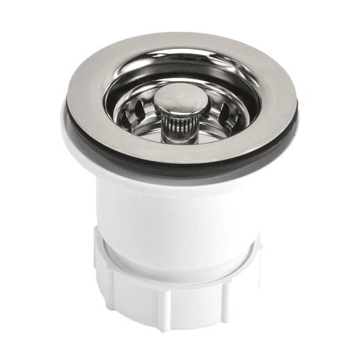 "2"" Round Jr. Drain Strainer - Polished Nickel <small>(#DR220-PN)</small>"