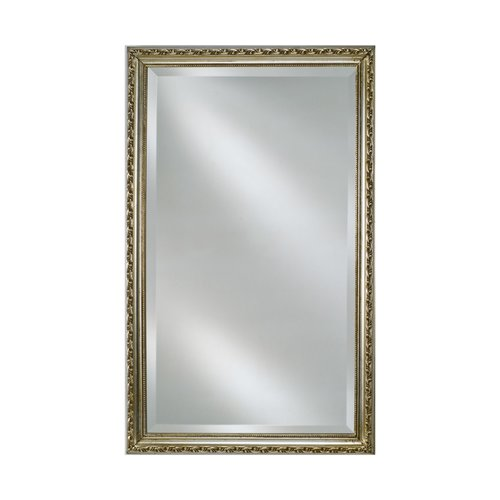 "30"" x 20"" Estate Wall Mount Mirror - Antique Silver <small>(#EC10-2030-SV)</small>"