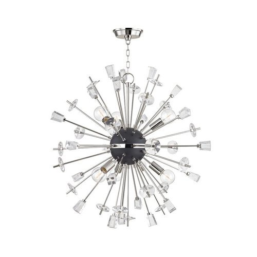 Liberty 6 Light Chandelier - Polished Nickel <small>(#5032-PN)</small>