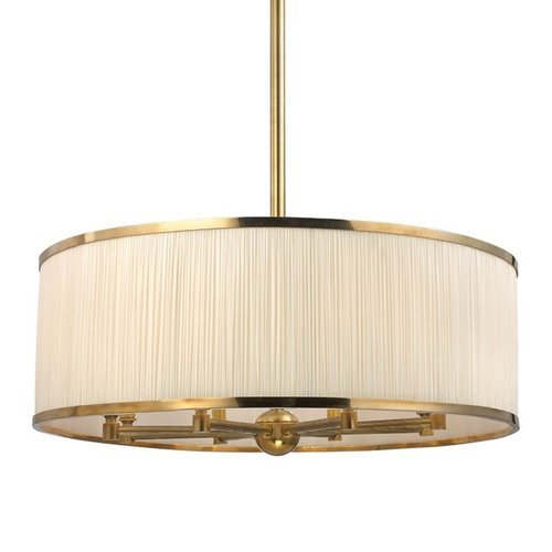 Hastings 8 Light Chandelier - Aged Brass <small>(#5230-AGB)</small>