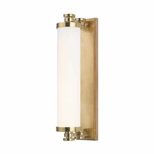 Hudson Valley Sheridan 8 Light Bathroom Vanity Light Bar Aged Brass 9708 Agb J Keats