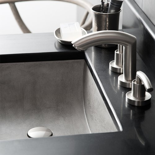 "20"" x14"" Cabrillo Universal Mount Bathroom Sink - Ash <small>(#NSL2014-A)</small>"