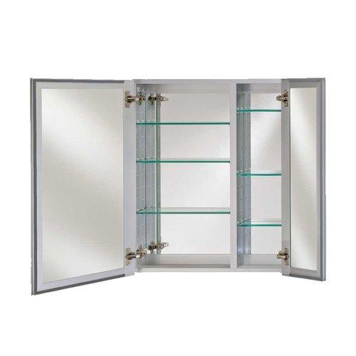 "Afina Broadway 28"" Wall Mount Mirrored Medicine Cabinet - Beveled DD 2830 R BRD (BV)"