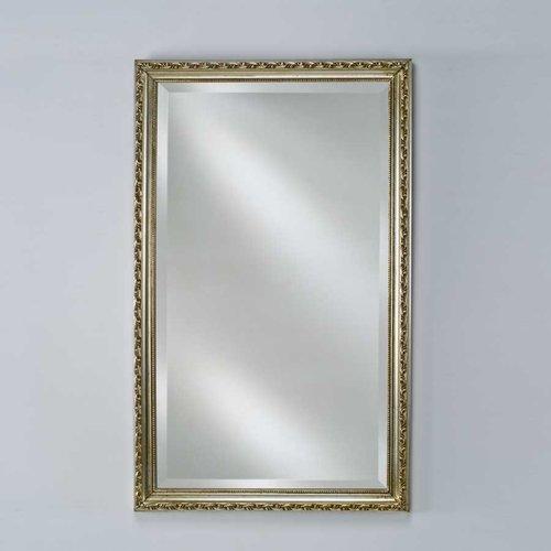 """Estate 16"""" Mirror - Antique Silver <small>(#EC10-1622-SV)</small>"""