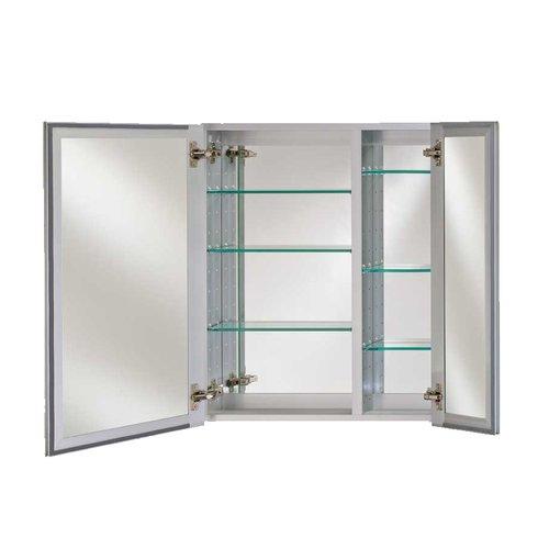 "Afina Broadway 30"" Wall Mount Mirrored Medicine Cabinet - Polished DD 3030 R BRD (PE)"