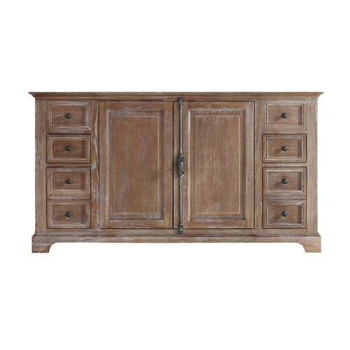 """59"""" Providence Single Cabinet Only w/o Top - Driftwood <small>(#238-105-5311)</small>"""