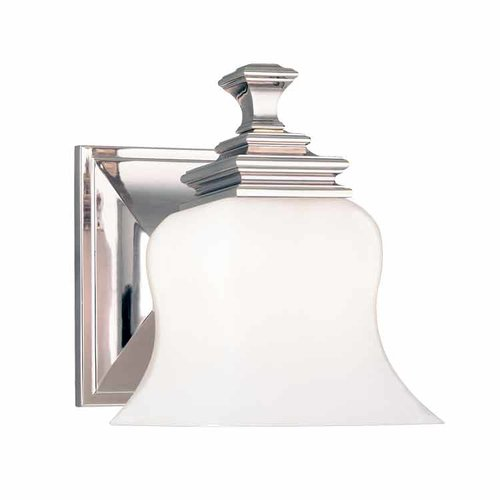 Wilton 1 Light Bathroom Sconce - Polished Nickel <small>(#5501-PN)</small>