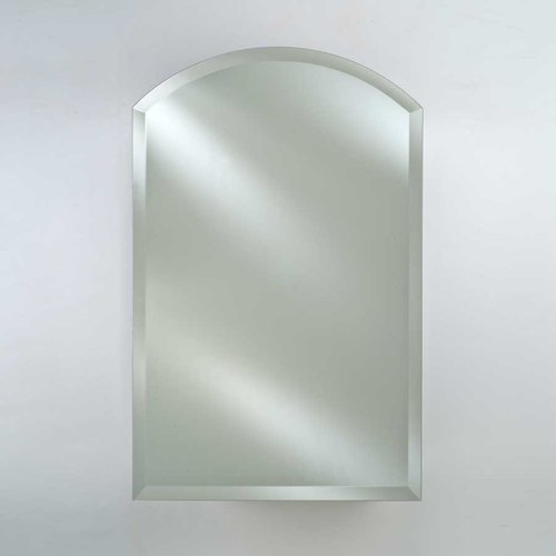 """16"""" Arch Top Wall Mount Mirrored Medicine Cabinet - Beveled <small>(#SD-1622-ARC-BV)</small>"""