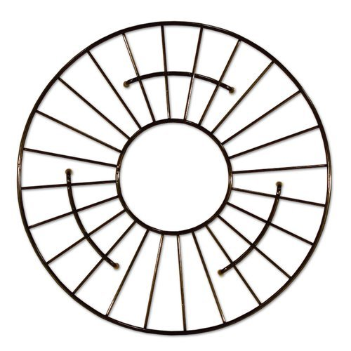 "13-1/2"" Round Kitchen Sink Grid - Mocha <small>(#GR914-M)</small>"