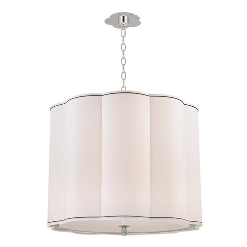 Sweeny 5 Light Chandlier - Polished Nickel <small>(#7925-PN)</small>