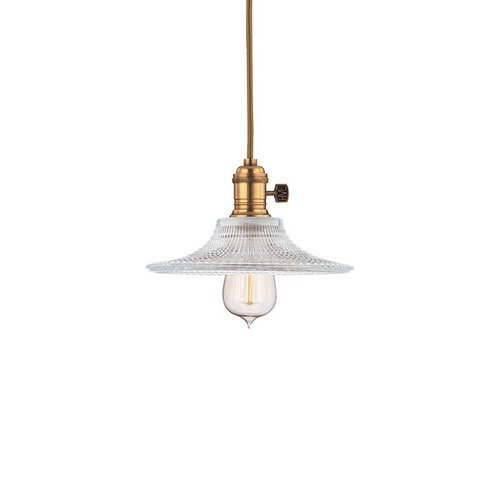 Heirloom 1 Light Pendant - Aged Brass <small>(#8001-AGB-GS6)</small>