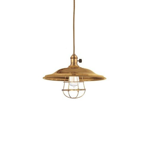 Heirloom 1 Light Pendant - Aged Brass <small>(#8001-AGB-MS2-WG)</small>