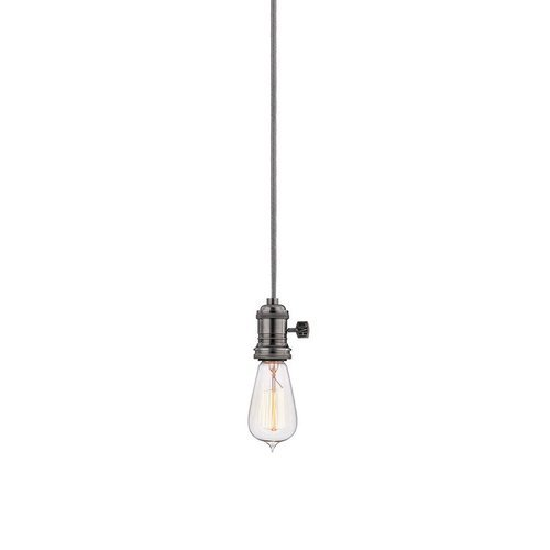 Heirloom 1 Light Pendant - Historic Nickel <small>(#8002-HN)</small>