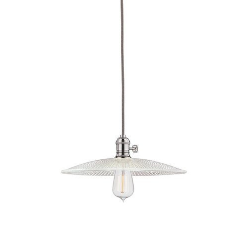 Heirloom 1 Light Pendant - Polished Nickel <small>(#8002-PN-GS4)</small>