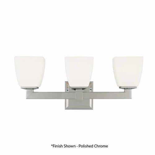 Hudson Valley Soho 3 Light Bathroom Vanity Light - Satin Nickel 6203-SN