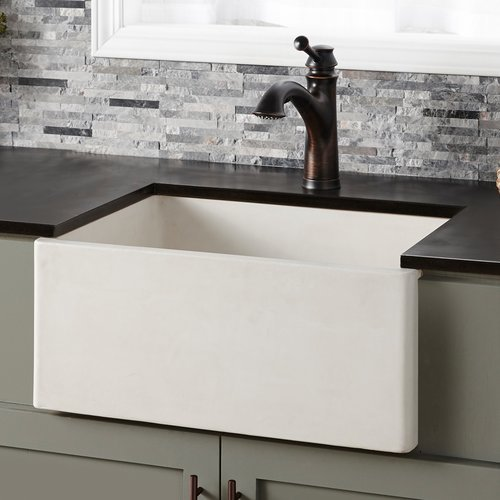 "Native Trails 24"" x 18"" Farmhouse Reversible Kitchen Sink - Pearl NSK2418-P"