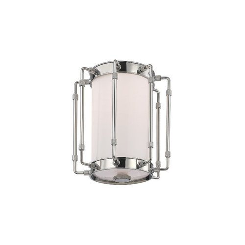 Hyde Park 1 Light Flush Mount - Polished Nickel <small>(#9709-PN)</small>
