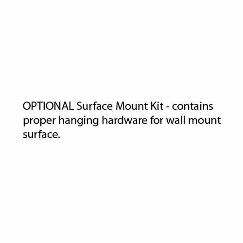 Afina Surface Mount Kit for Ilume Medicine Cabinets MSK-IL-30