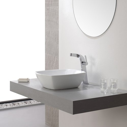Typhon Vessel Bathroom Faucet - Chrome <small>(#KEF-15100CH)</small>