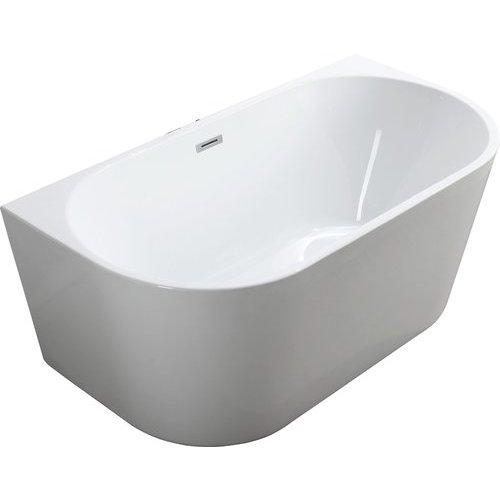 Calabria 59 Inch Freestanding Bathtub - Glossy White <small>(#BA6815B)</small>
