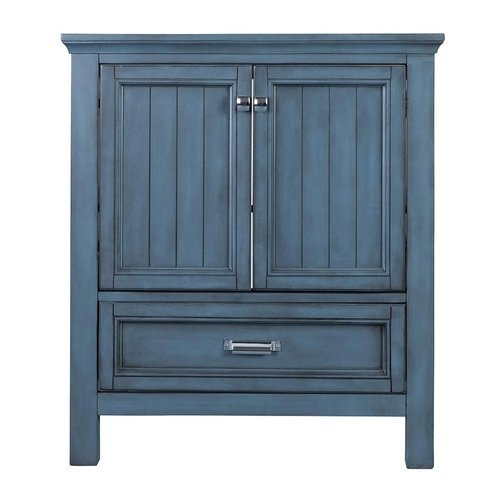 30 Inches Free Standing Brantley Vanity Only - Harbor Blue <small>(#BABV3022D)</small>