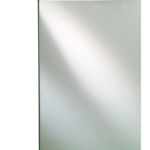 Broadway 20 x 36 Inch Rectangular Single Door Mirrored Medicine Cabinet - Frameless Beveled <small>(#SD2036RBRDBV)</small>