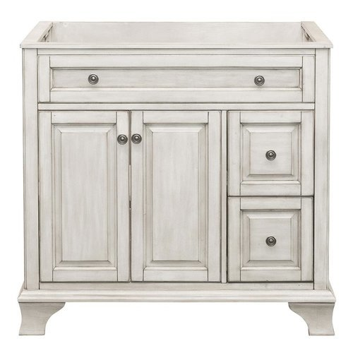 36 Inches Free Standing Corsicana Vanity - Antique White <small>(#CNAWV3622D)</small>