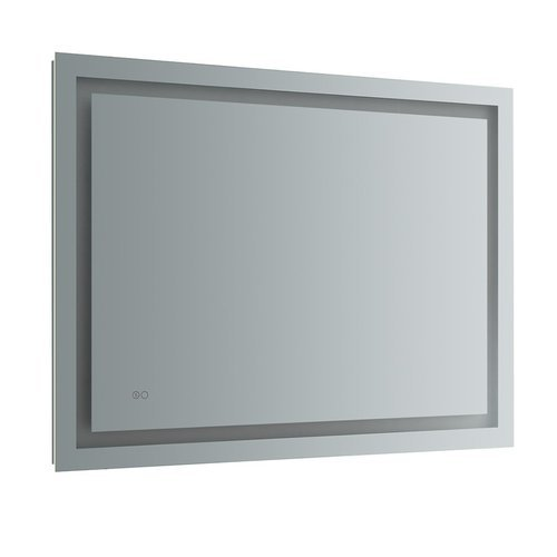 """Santo 48"""" Wide x 36"""" Tall Bathroom Mirror w/ LED Lighting and Defogger <small>(#FMR024836)</small>"""