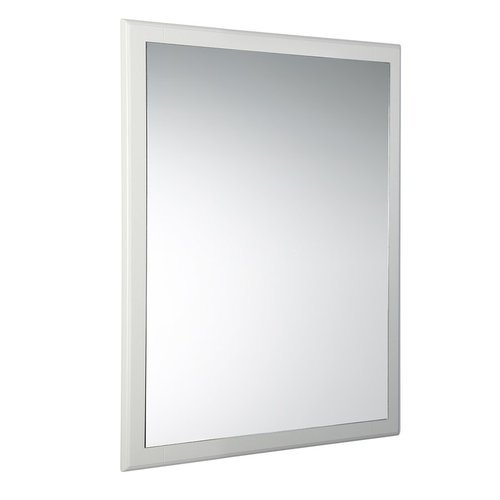 "Oxford 26"" Antique White Mirror <small>(#FMR2030AW)</small>"