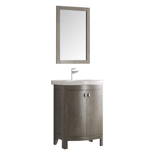 Fresca Greenwich 24 Antique Silver Traditional Bathroom Vanity Fvn2301sa Cmb J Keats