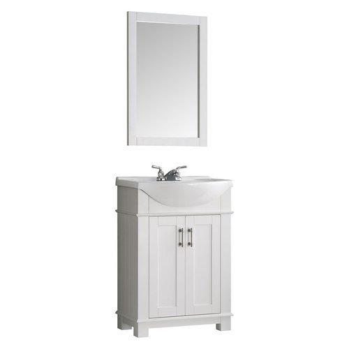 Fresca Hartford 24 White Traditional Bathroom Vanity Fvn2302wh Cmb J Keats