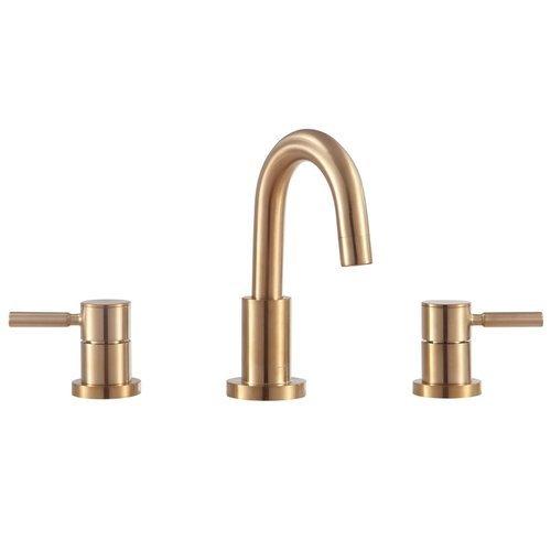 Positano 8 Inch Widespread 2-Handle Bath Faucet - Matte Gold finish <small>(#FWS1501MG)</small>