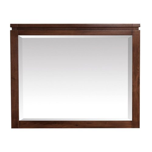 Giselle 38 Inch Beveled Mirror - Natural Walnut <small>(#GISELLE-M38-NW)</small>