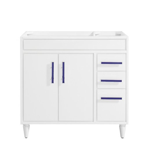 "36"" Layla Single Vanity - White <small>(#LAYLA-V36-WT)</small>"