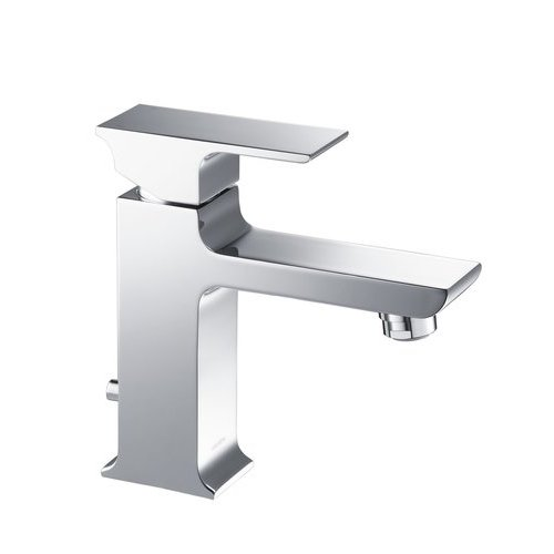 Adler Modern/Contemporary Single Hole Bathroom Faucet - Chrome <small>(#ST1001CH)</small>