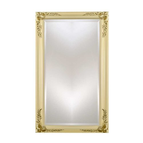 "Estate 16"" Mirror - Antique Biscuit <small>(#EC13-1622-BI)</small>"