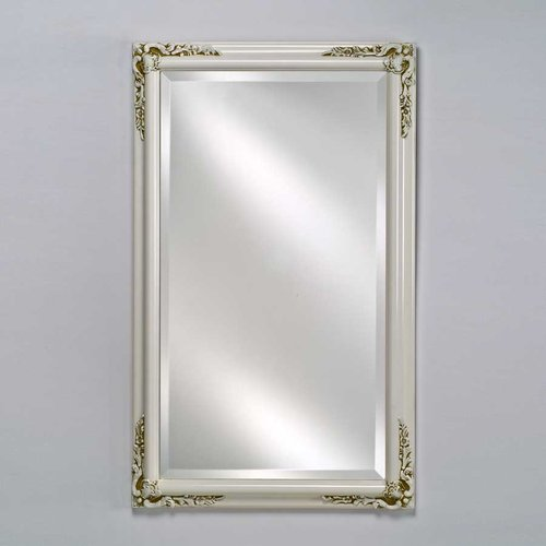 "Estate 16"" Mirror - Antique White <small>(#EC13-1622-WT)</small>"