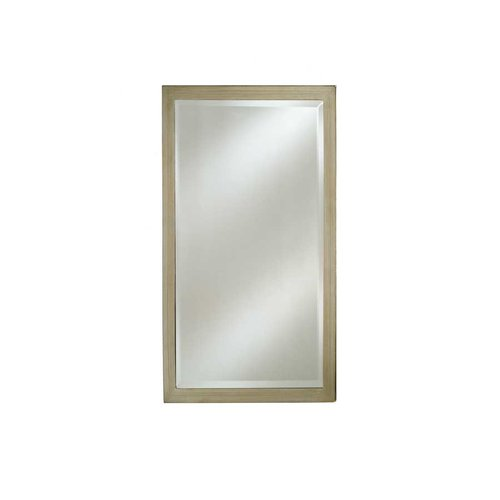 "Estate 16"" Mirror - Brushed Silver <small>(#EC11-1626-BS)</small>"