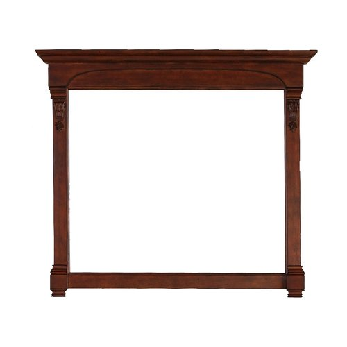 "41"" x 47"" Brookfield Wall Mount Mirror - Warm Cherry <small>(#147-114-5485)</small>"