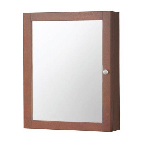 """19"""" Columbia Mirrored Medicine Cabinet - Cherry <small>(#COCC1924)</small>"""