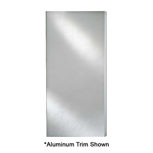 "Broadway 15"" Mirrored Medicine Cabinet - Aluminum Trim <small>(#SD 1525 R BRD (BV))</small>"