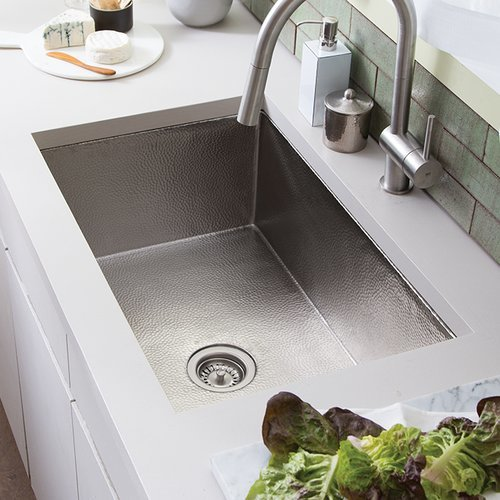 "33"" x 22"" Cocina Undermount Kitchen Sink - Brushed Nickel <small>(#CPK572)</small>"